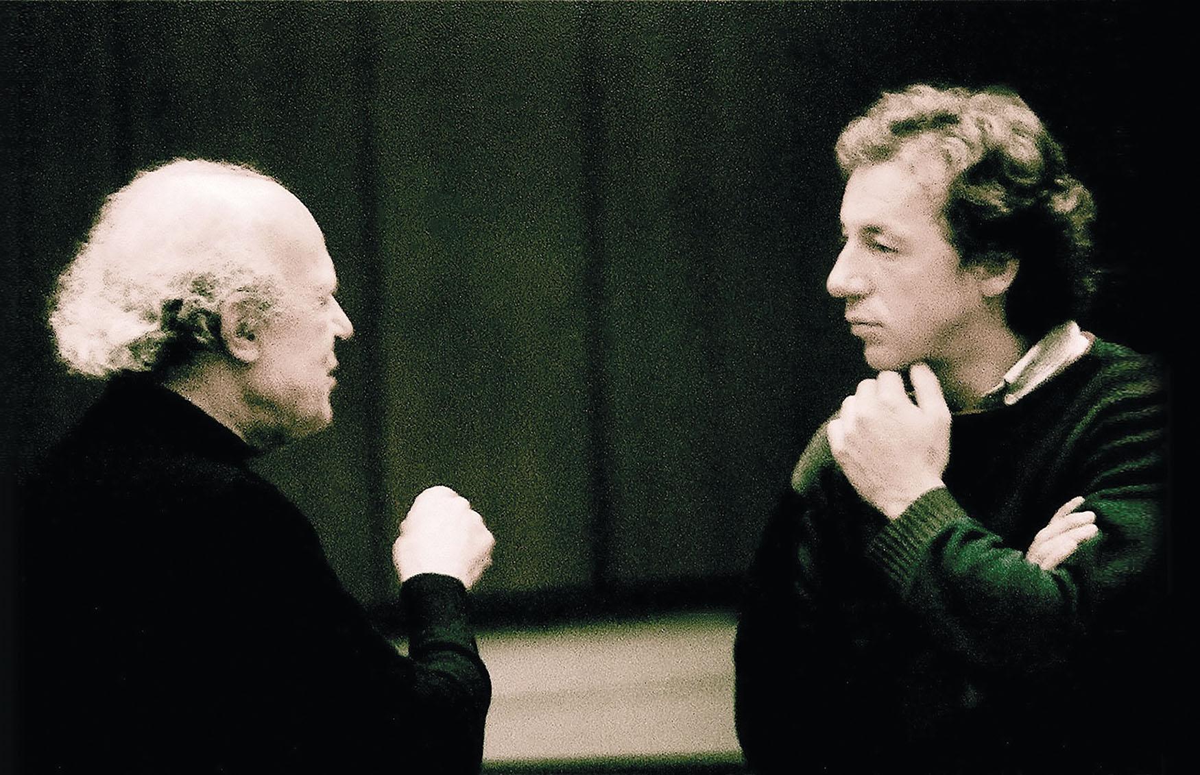 Instructive conversation with Ernest Bour, 1986.